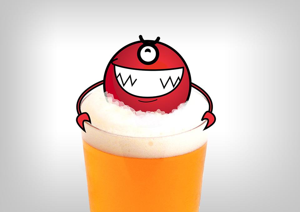 el monstruo de la cerveza